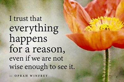 Does everything happens for a Reason?